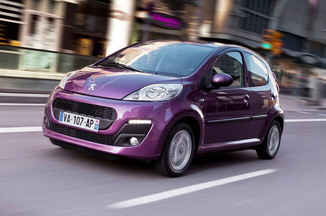 Peugeot 107 • Group A. Economy • Cars • Justrentals