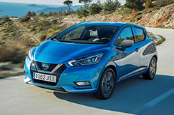 New Nissan Micra: rent now