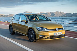 Volkswagen Golf: rent now