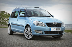 Skoda Roomster: rent now