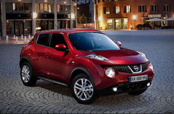 Nissan Juke: rent now