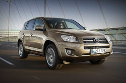Toyota Rav4 Auto: rent now