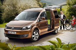 Volkswagen Caddy Maxi *7 Seater*: rent now