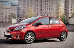 Toyota Yaris Auto: rent now