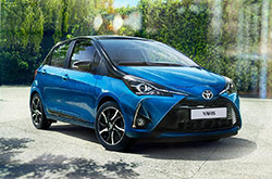 Toyota Yaris Hybrid: rent now