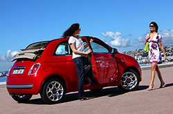 Fiat 500 cc: rent now