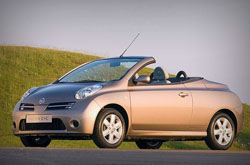 Nissan Micra C+C: rent now