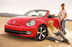 Volkswagen Beetle: rent now