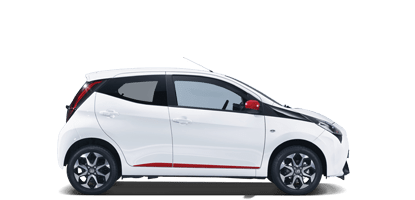Toyota Aygo - Car rental in Crete