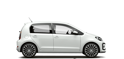 Volkswagen UP hire auto