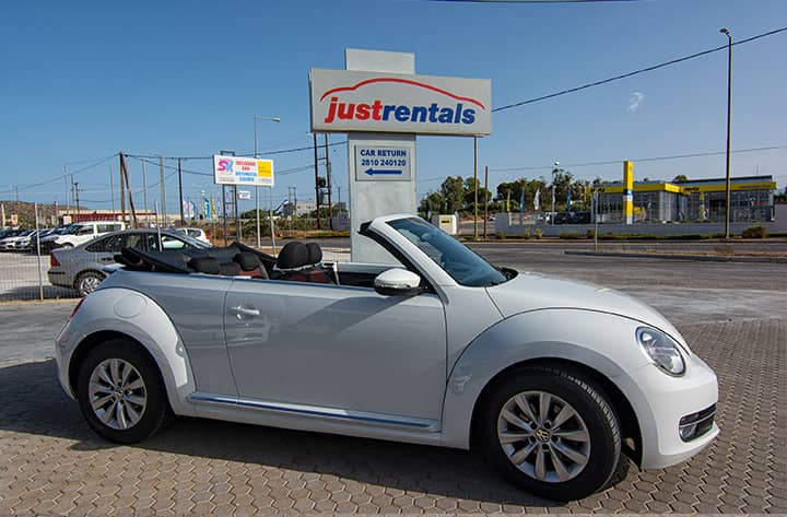 car rental chania airport with justrentals