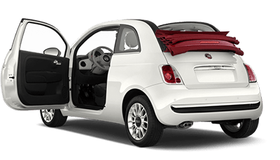 Fiat 500cc | Just rent a car crete